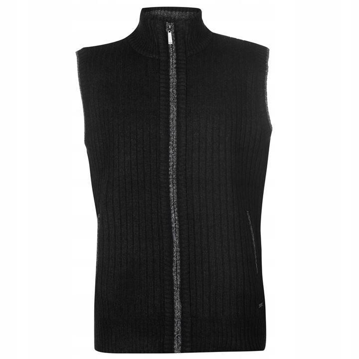 E3118 Pierre Cardin Bezrękawnik sweter męski M