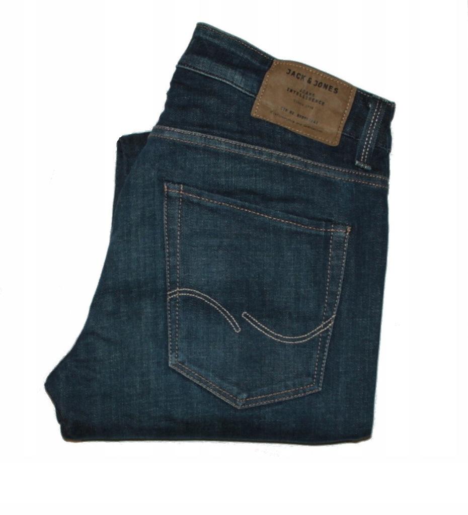 Jack&Jones jeansy męskie pas:75 cm, nog.: 102
