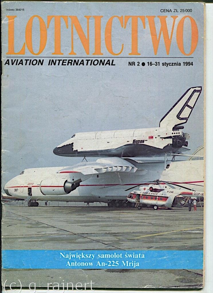 LAI Lotnictwo aviation international 2/1994 db-