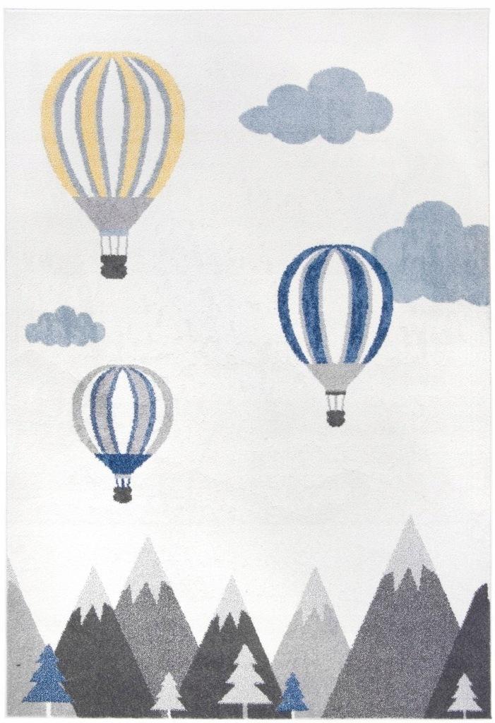 Dywan dziecięcy pokój baloniki na niebie 160x230_C