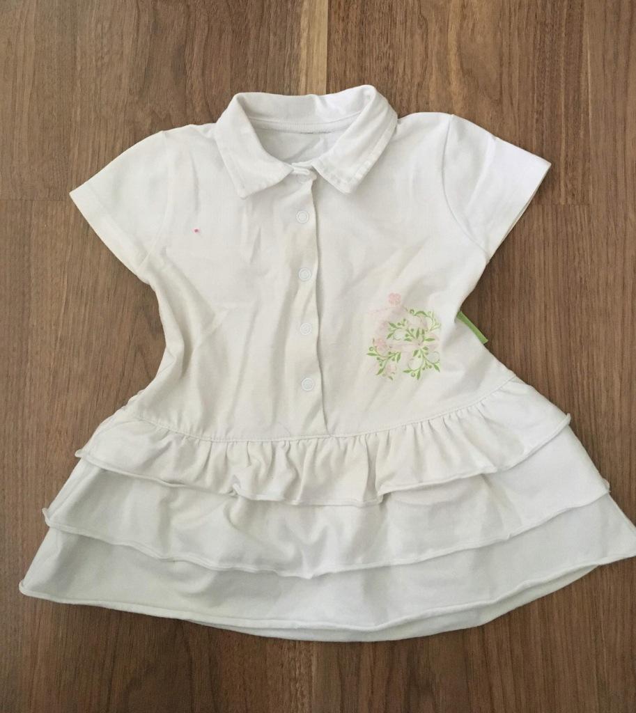 Sukienka Coccodrillo, r.6-9m.