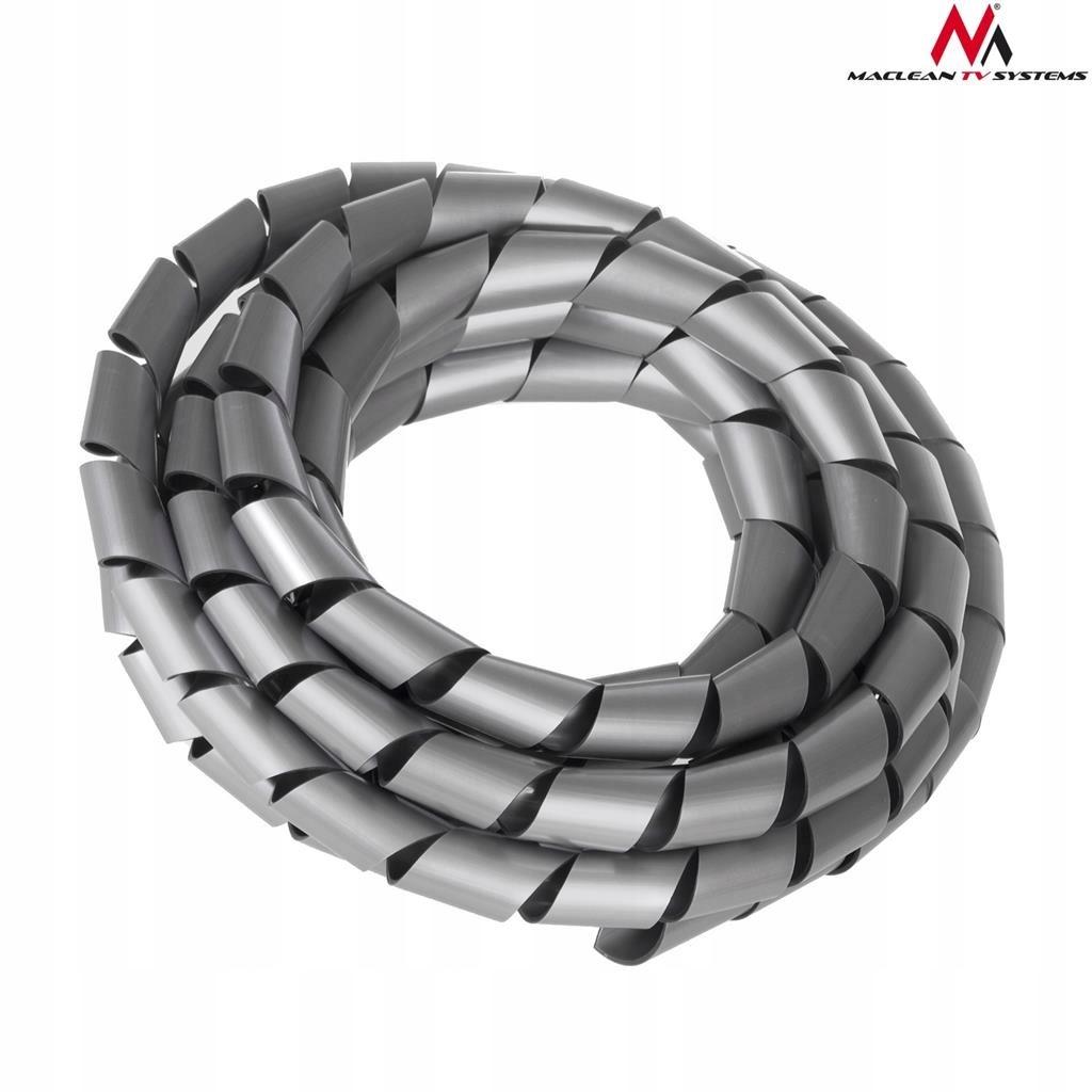 Osłona maskująca na kable (14.6x16mm) 3m srebna