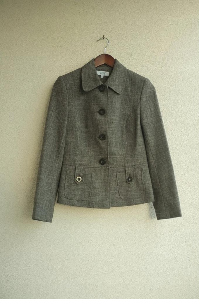 jesienny żakiet Tailored by Next 38 M beż brąz