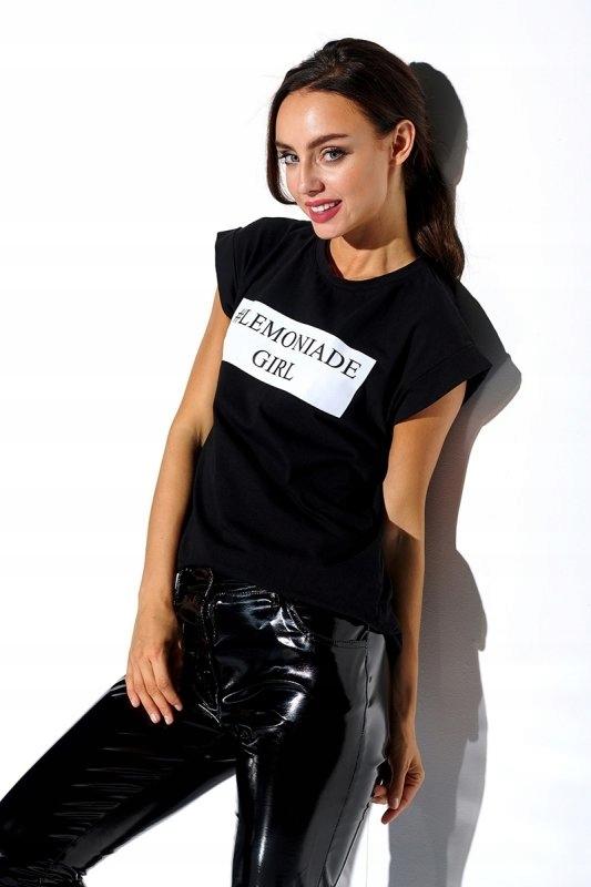 Tshirt Damski L280 czarny - Lemoniade