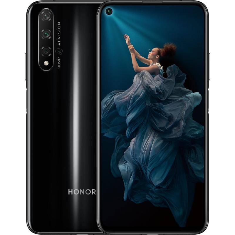 Huawei Honor 20 Yal L21 6 128gb Black 8888165041 Oficjalne Archiwum Allegro