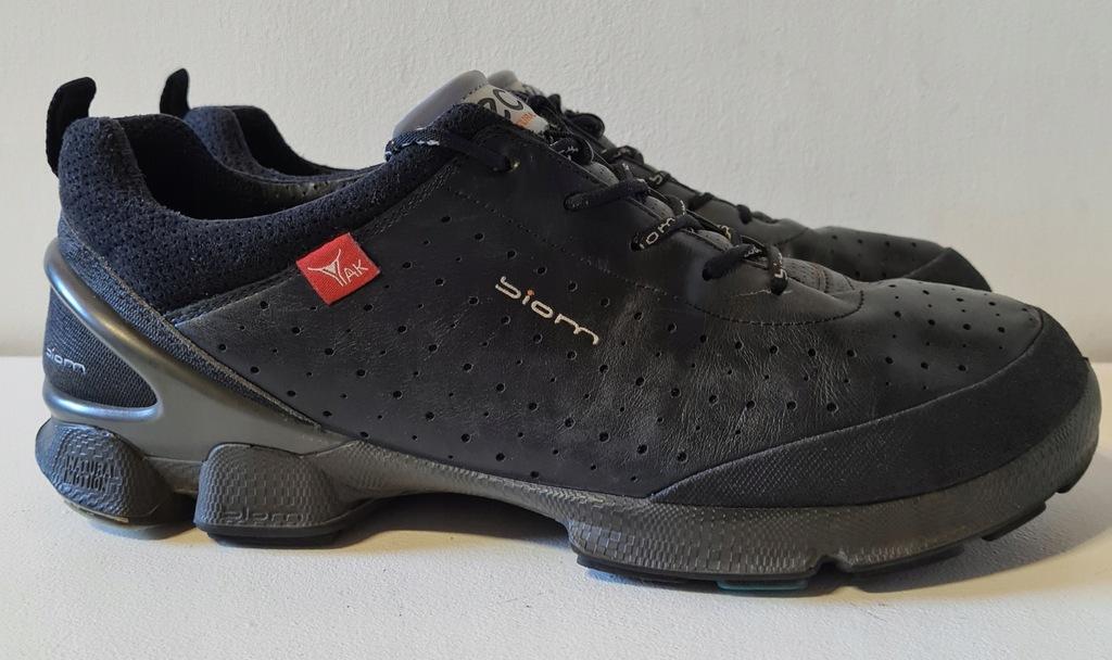 ECCO BIOM buty trekkingowe górskie skóra yaka 44