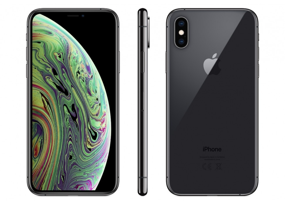 Smartfon iPhone XS czarny 64 GB space grey