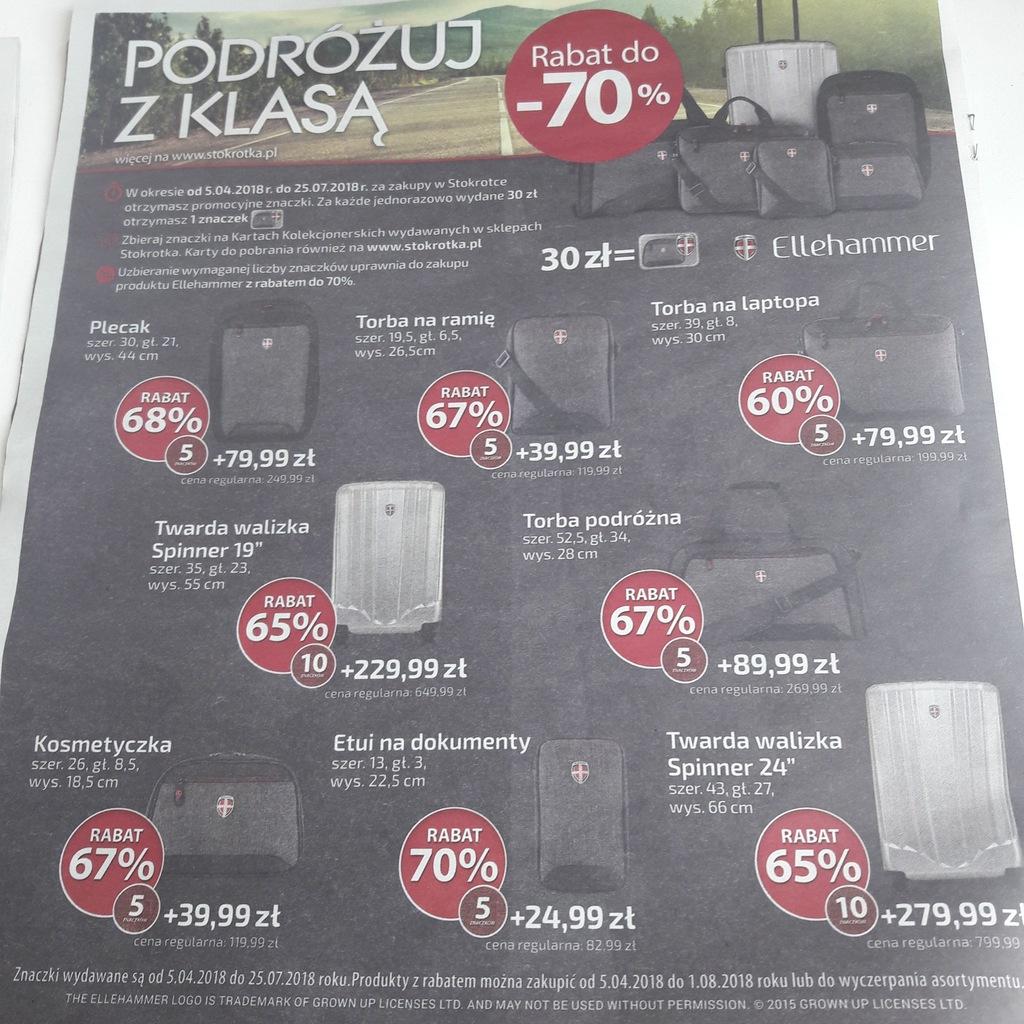 naklejki znaczki STOKROTKA ELLEHAMMER rabat 70%