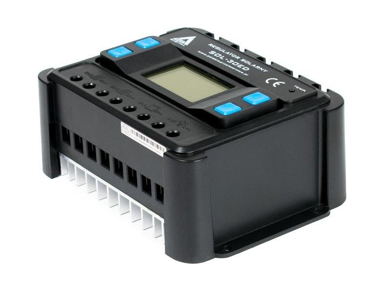 Solarny regulator ładowania PWM SOL-30ED 12/24 - 3