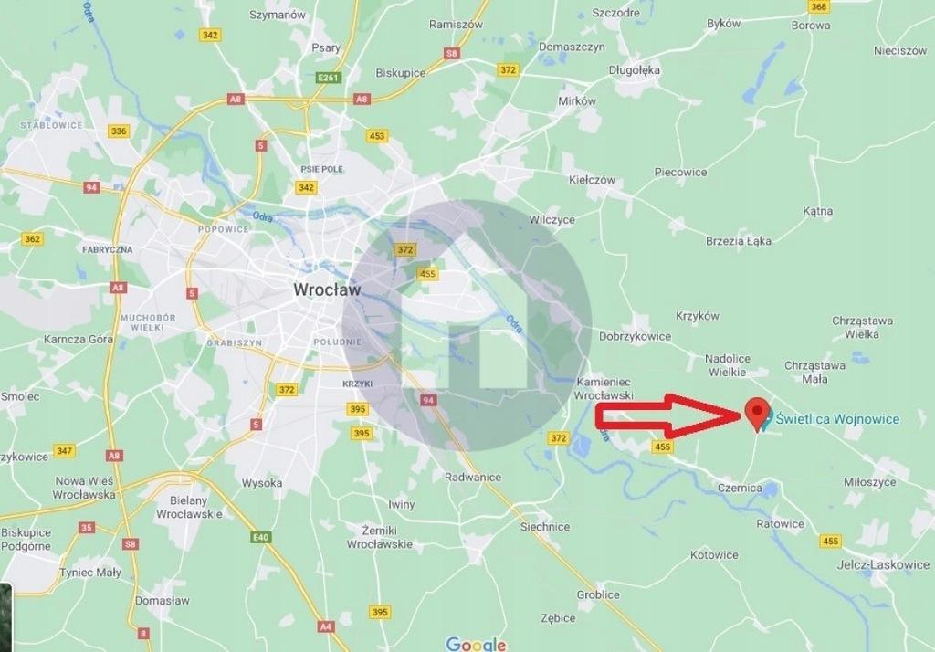 Działka, Wojnowice, Czernica (gm.), 809 m²