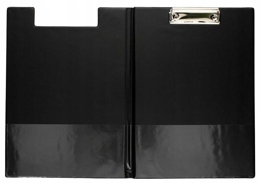 Deska z klipem i okładką Biurfol A4 czarna