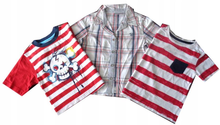 LATO 3 fajne koszulki KOLORY chł 92 SUPER
