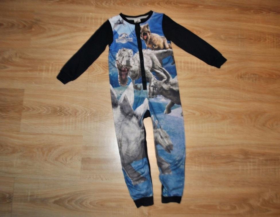 GEORGE świetna piżama pajacyk DINOZAURY 110-116