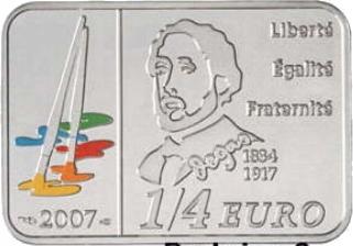 DEGAS 1/4 EURO Francja 2007 rok !