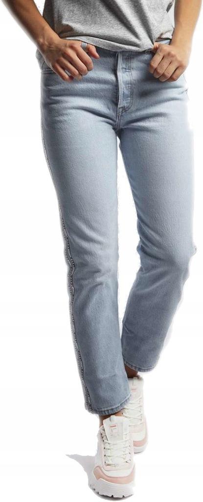 Damskie Spodnie LEVI'S 501 CROP JEANS 0071 2628
