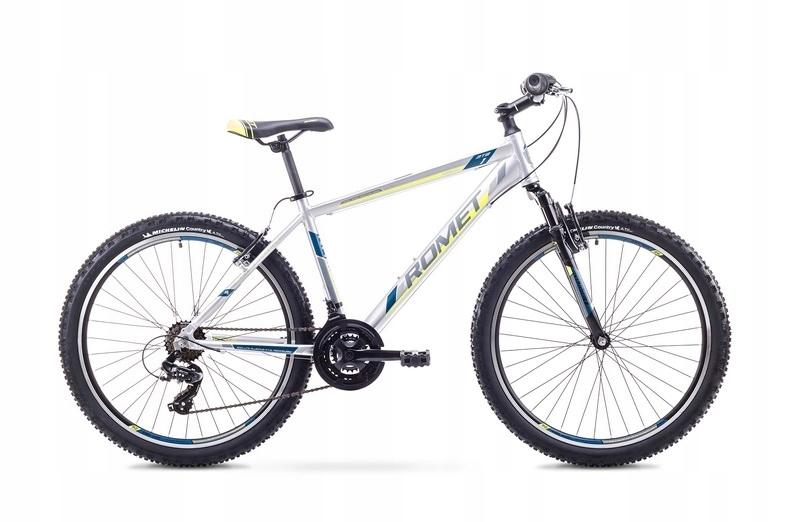 21 XL Rower ROMET RAMBLER 26 1 szaro-nieb. W-wa