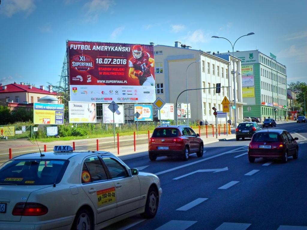 Pow. Reklamowa 126m2 Białystok - Sienkiewicza