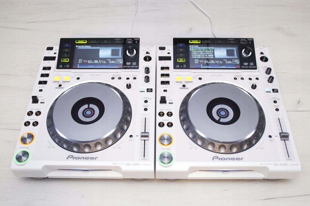 2 X PIONEER CDJ 2000 Limited GWARANCJA DJM 800 900