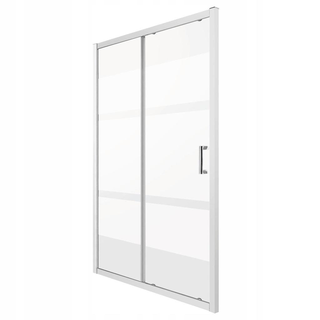 Drzwi wnękowe OPTIMO D 120 MLECZNE PASKI