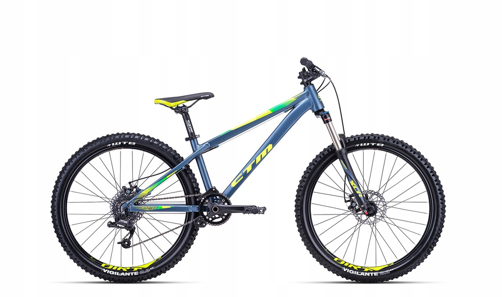 CTM RAPTOR 1.0 -bike typu DIRT-2019 CENA