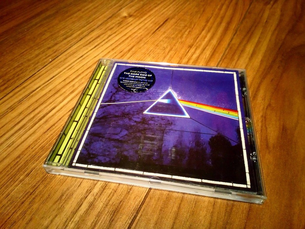 PINK FLOYD DARK SIDE OF THE MOON SACD 5.1 MULTICH.