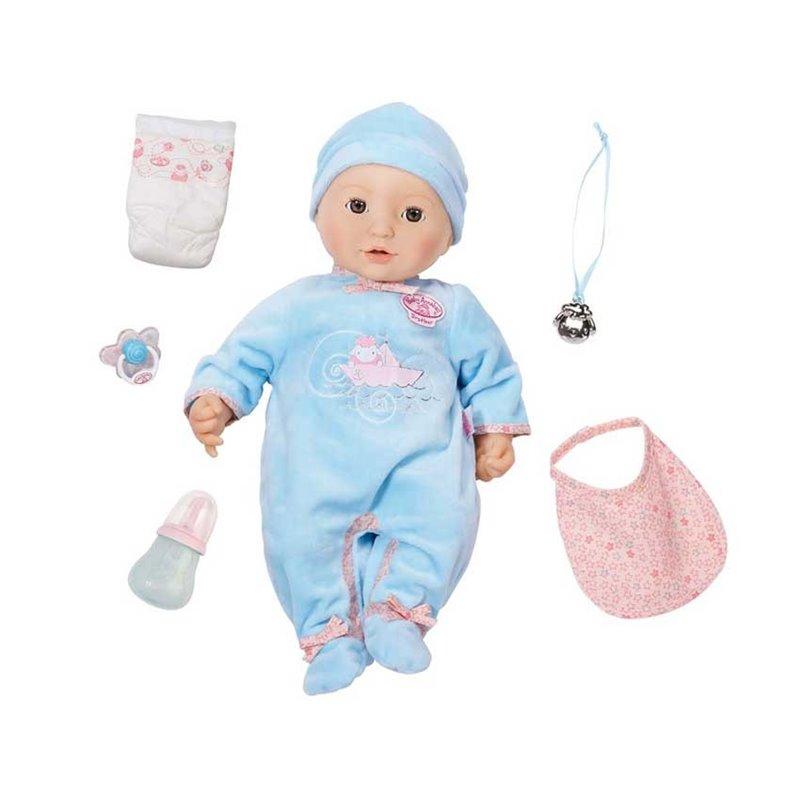 Baby Annabell bobas lalka interaktywna Brat