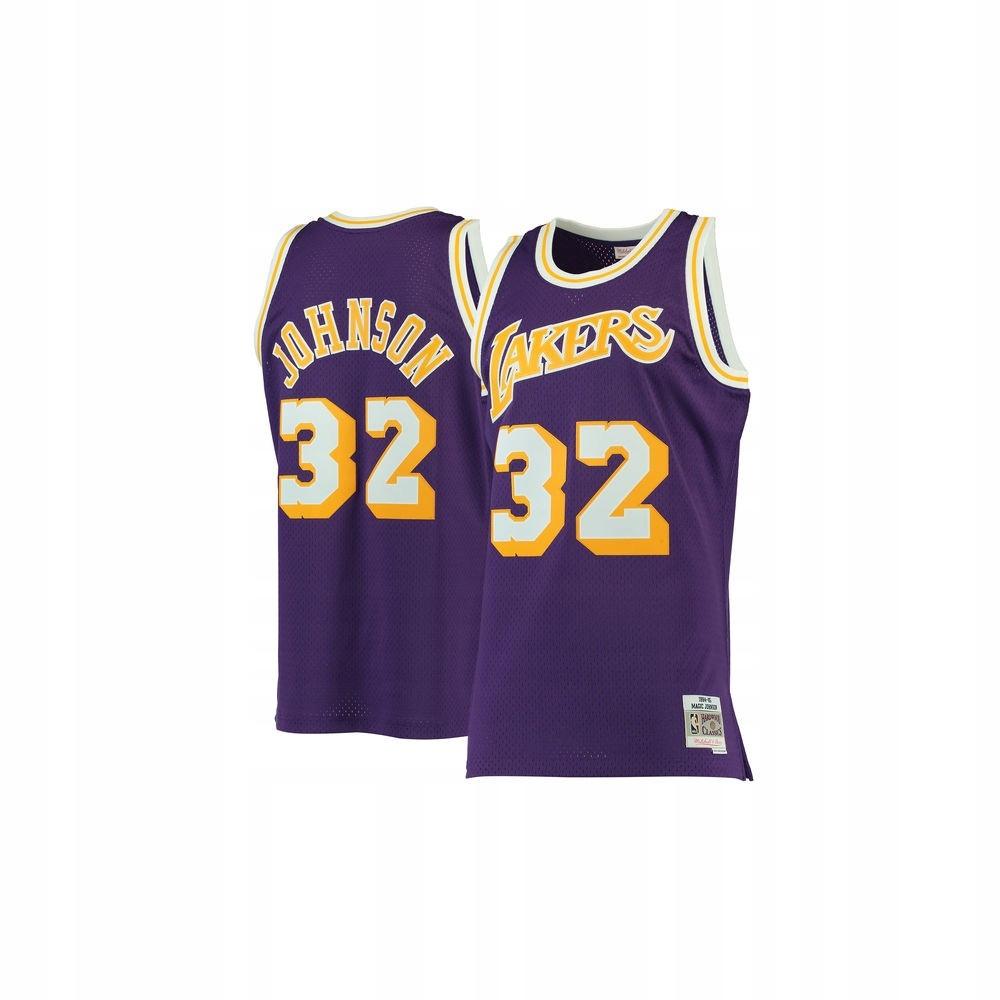 Koszulka NBA Jersey #32 Magic Johnson rozm L