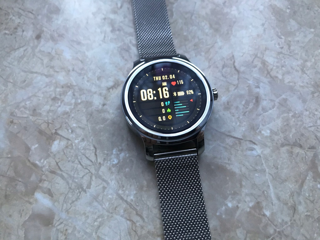 Smartwatch Overmax Touch 2.6 srebrny