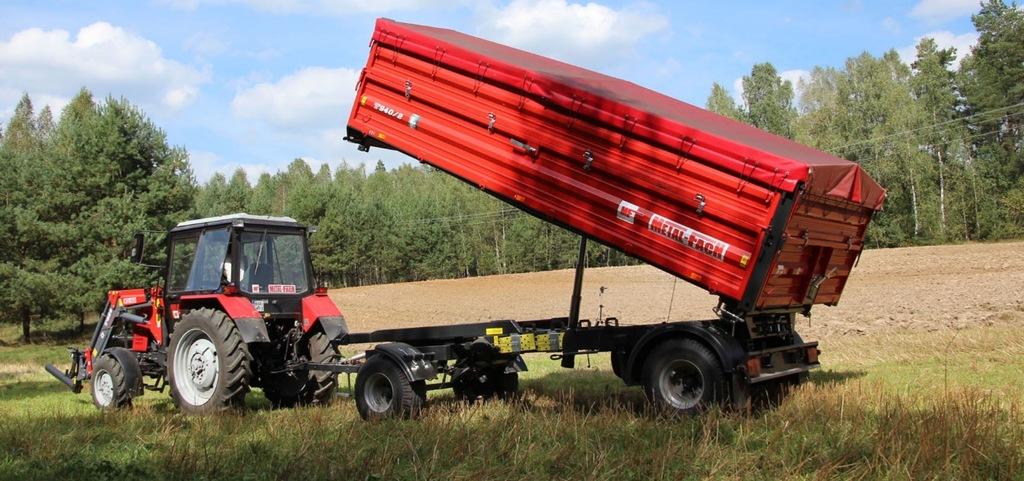 Metal-Fach Przyczepa Rolnicza T940 ,6 t Paletowa