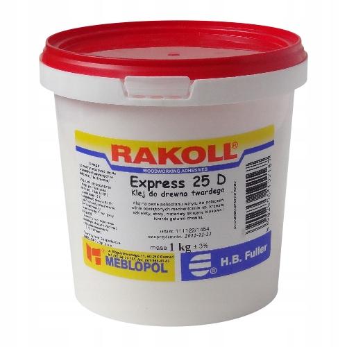 KLEJ DO DREWNA RAKOLL EXPRESS 25D 5KG