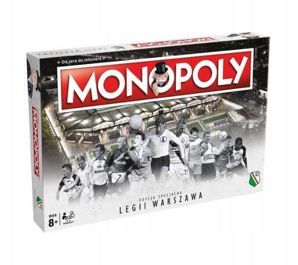 Gra rodzinna Winning Moves Monopoly Legia Warszawa