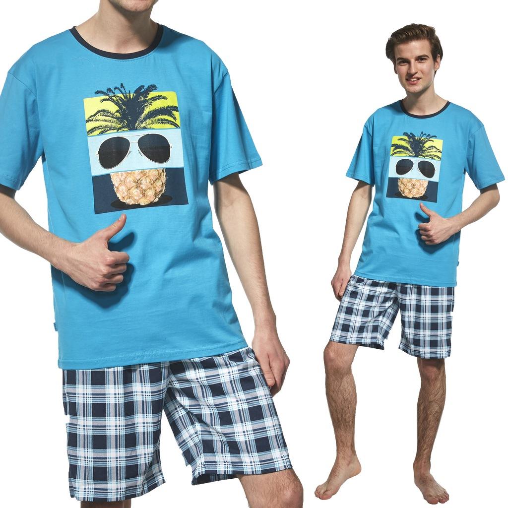 551 27 Pineapple Cornette piżama młodzieżowa 182 L