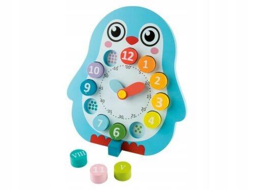 Gra edukacyjna zegar Playtive Junior NOWA
