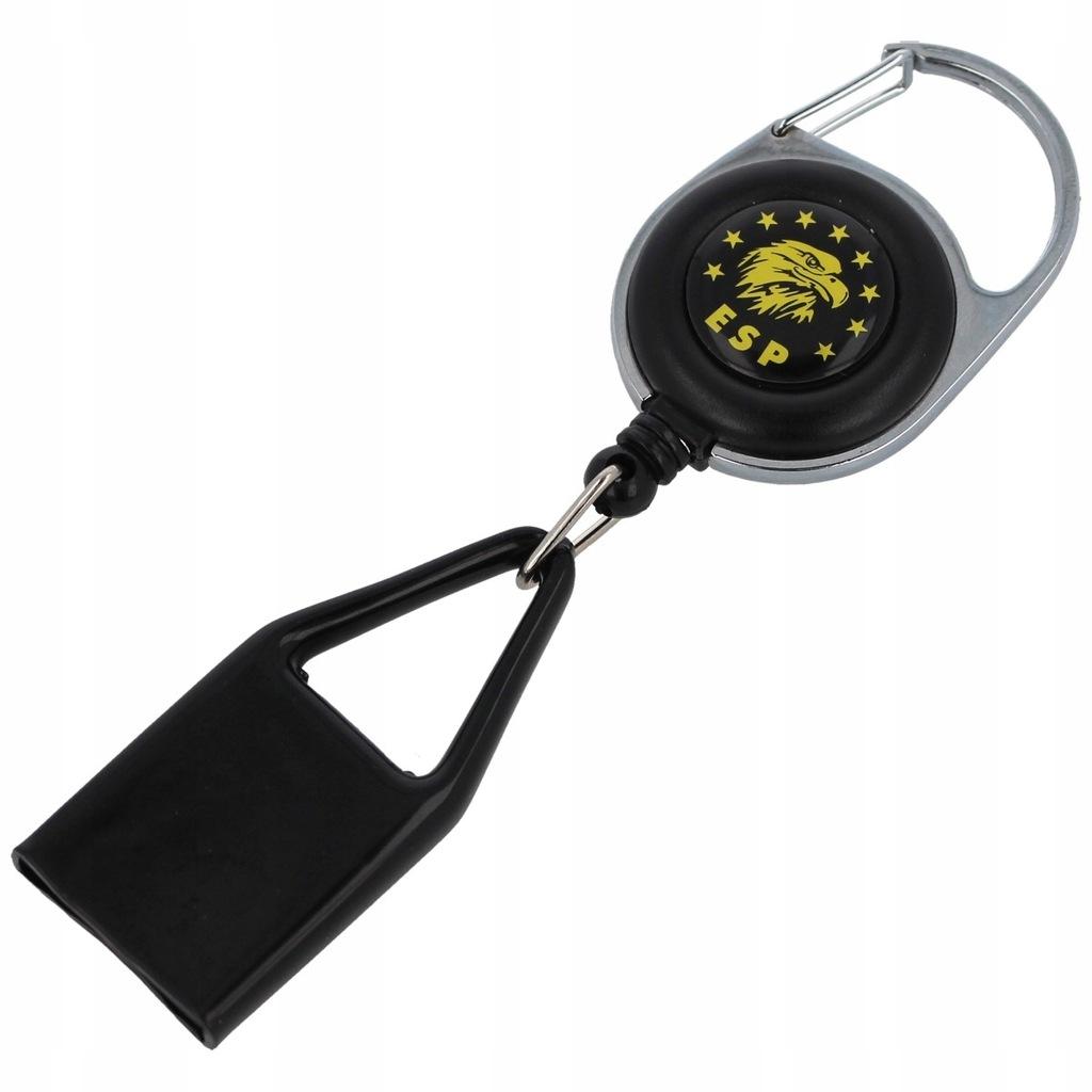 Smycz ESP do miotacza gazu 22mm z karabińczykiem