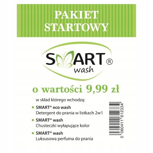 Smart Wash pakiet startowy produktów do prania