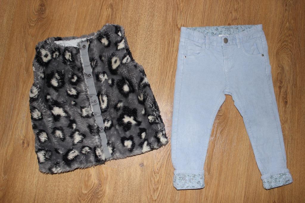 Kamizelka _ NEXT _ Spodnie ZARA Gratis _ 98 cm _
