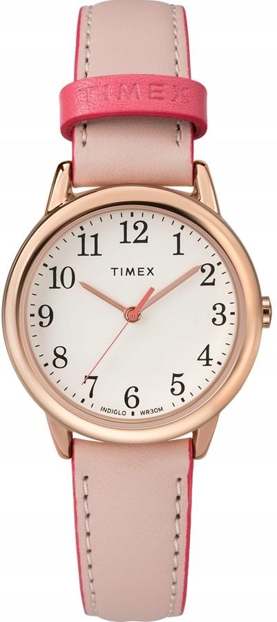 Zegarek Timex Różowy Podświetlany Indiglo Damski