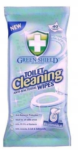 Chusteczki Antybakteryjne do Toalety WC 40 szt
