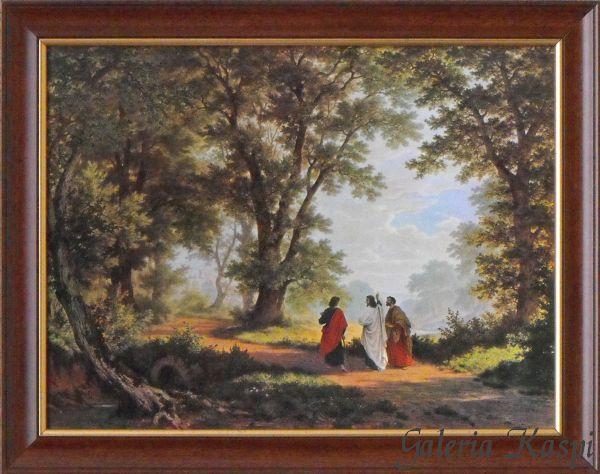 W Drodze Do Emaus 30x40 Oprawiony Obraz 7200787207 Oficjalne Archiwum Allegro