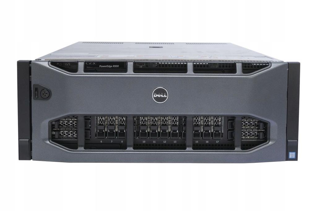 DELL R930 4x E7-8890v3 1TB RAM 24x 3.84TB SSD SAS