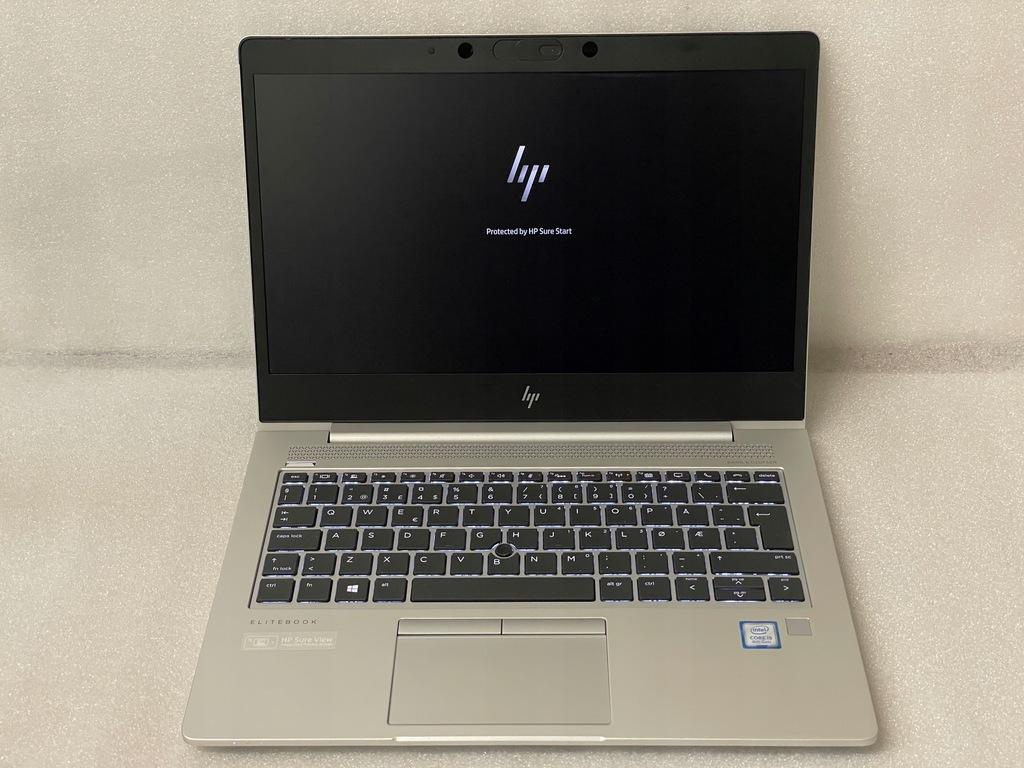 HP EliteBook 830 G5 i5-8250U 8/256 FHD GW 06/2022