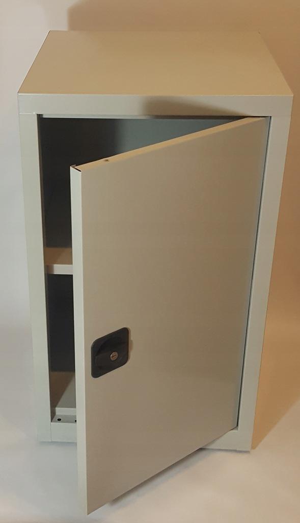 szafka metalowa zamykana na zamek 50x50x85