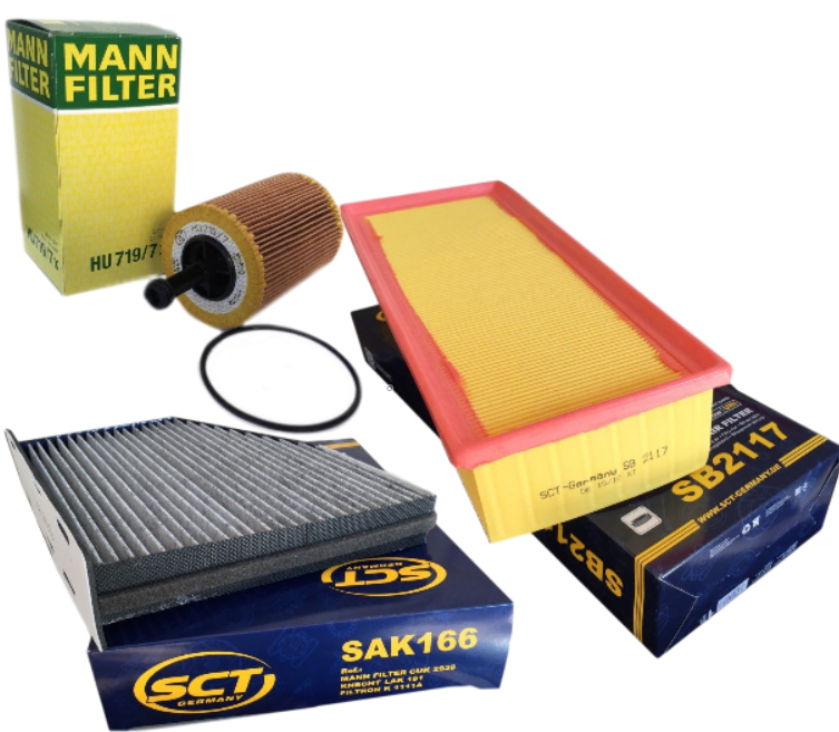 Zestaw filtrów Passat Turan 2,0HDI dostawa gratis