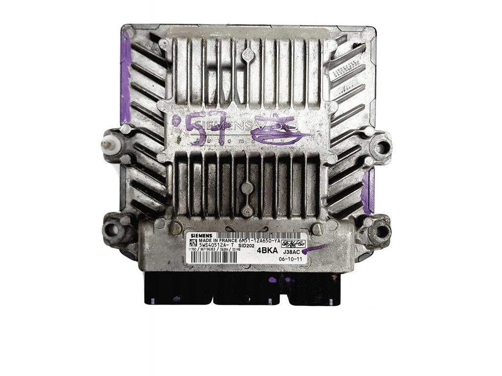 Sterownik 6M51-12A650-YA 5WS40512A-T Ford Siemens