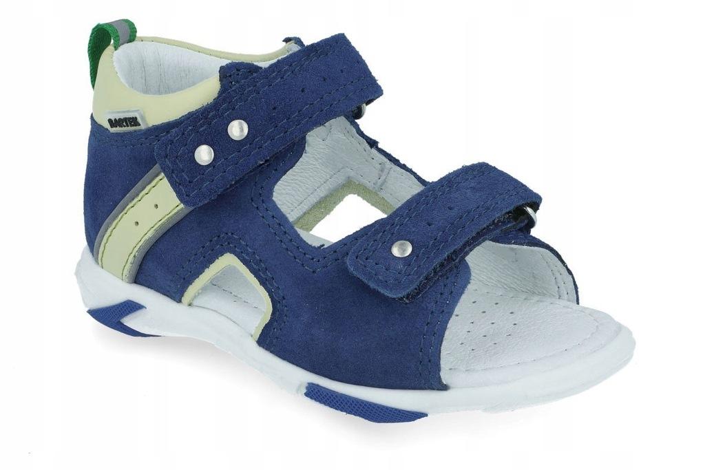 Sandały profilaktyczne BARTEK 71188 niebieski R24