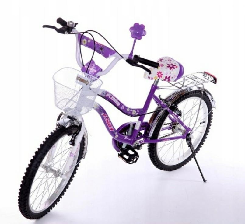 Rower Dla Dziewczynki Kola 20 Cali Rowerek 9176695056 Oficjalne Archiwum Allegro