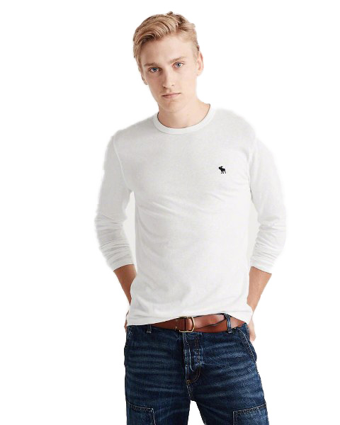 Abercrombie & Fitch Longsleeve Icon Crew r.L