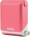 TOMY KIIPIX - Różowa przenośna drukarka