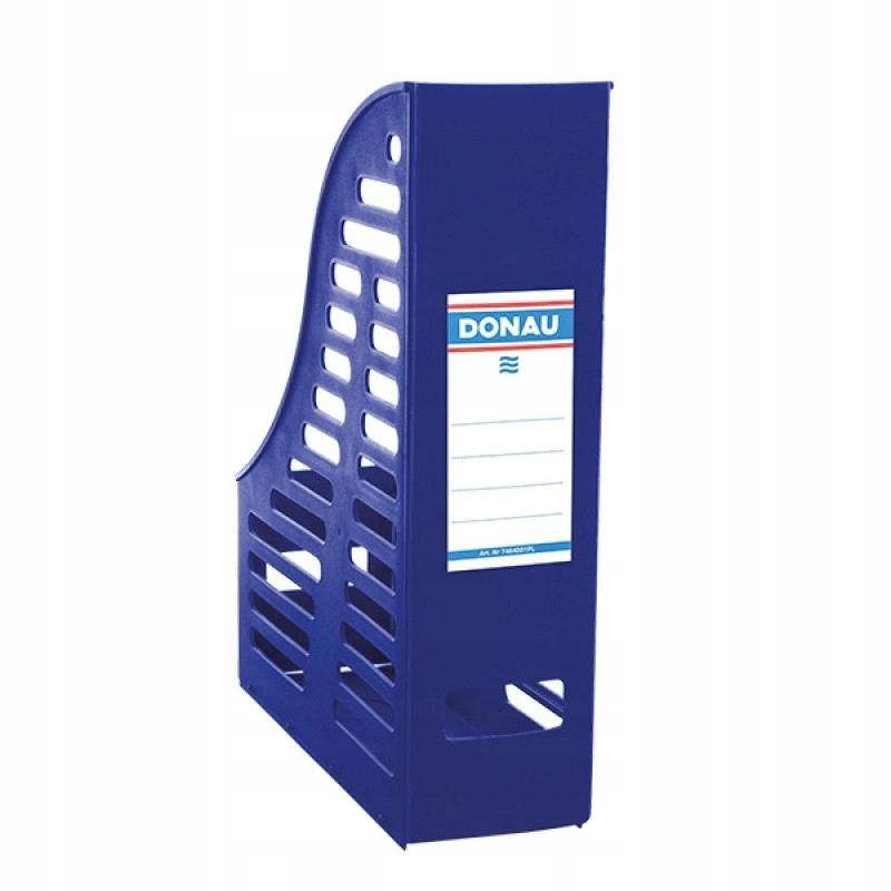 Pojemnik na dokumenty PP A4 składany niebieski