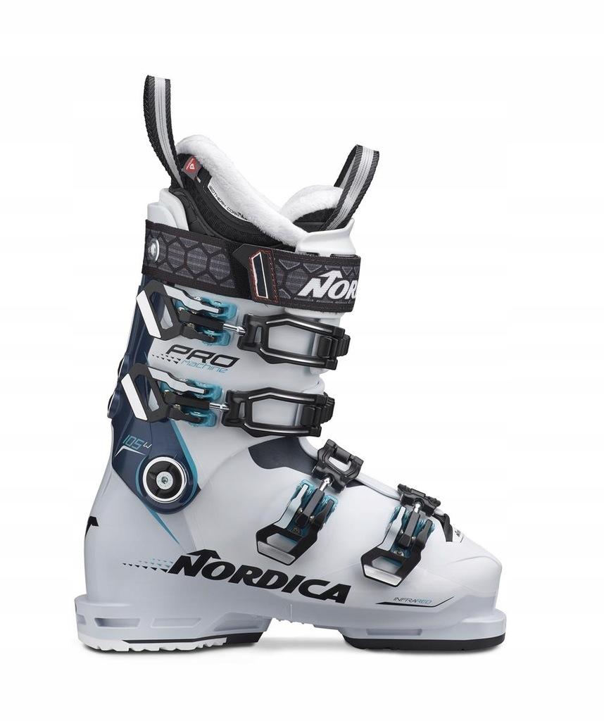 Buty narciarskie Nordica Promachine 105 W Biały 25